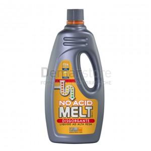Disgorgante Liquido Professionale MELT NO ACID Flacone Lt.1