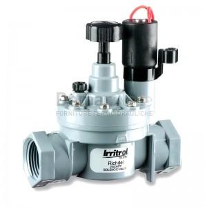"""Elettrovalvola Irrigazione 1"""" CCF Serie 2500 Grigia 9 Volt DC"""