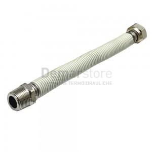 "Flessibile Acciaio Inox Acqua Estensibile 200-400 mm 1/2"" MF"