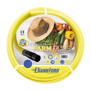 """Tubo Gomma da Giardino 5 Strati Rotolo mt.25 Diam. 1/2"""""""