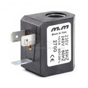 Bobina per Elettrovalvola M&M 230V