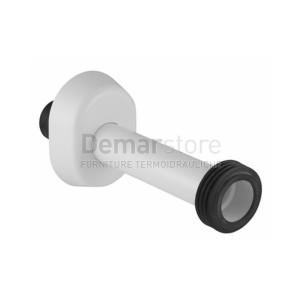 Canotto Universale Tipo Geberit Bianco in PVC