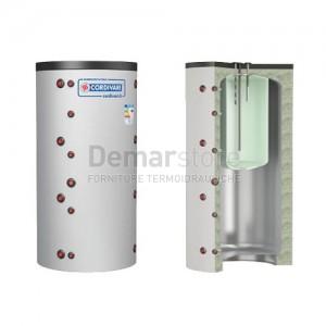 Puffer COMBI 1 WC Cordivari Riscaldamento + Accumulo ACS Lt. 800