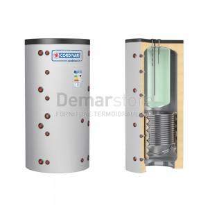 Puffer COMBI 2 WB Cordivari Riscaldamento + Accumulo ACS e 1 Scambiatore Fisso Lt. 500