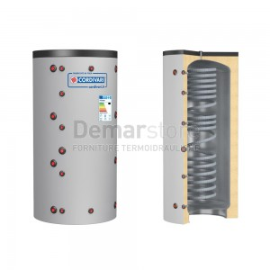 Puffer ECO-COMBI 1 VB Cordivari Riscaldamento + Scambiatore ACS Lt. 600
