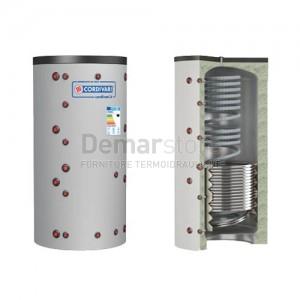 Puffer ECO-COMBI 2 VC Cordivari Riscaldamento + Scambiatore ACS e 1 Scambiatore Fisso Lt. 800