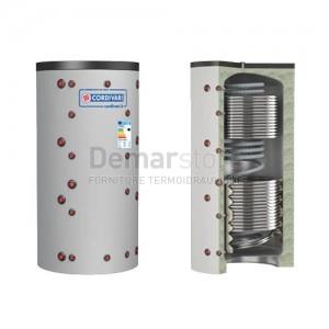 Puffer ECO-COMBI 3 VC Cordivari Riscaldamento + Scambiatore ACS e 2 Scambiatori Fissi Lt.1000
