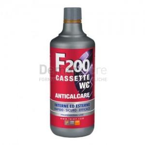 Acido Professionale F200 per Pulizia Cassette WC