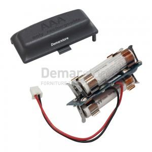 Kit Batterie Ricaricabili Thermorossi per Radiocomando Palmare Aladino