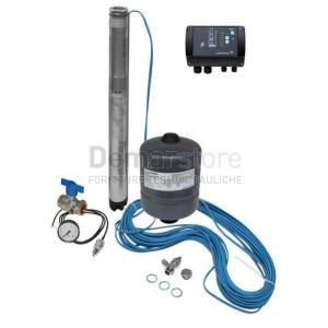 Kit Pressione Costante Grundfos SQE 5-70 con Cavo 40 m + Accessori