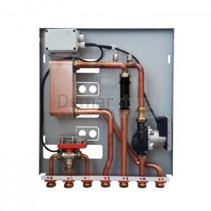 Modulo per Separazione Impianti 35 kW con 1 Circolatore e Valvola 3 Vie