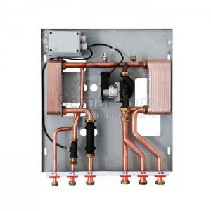 Modulo per Separazione Impianti 35 kW con 1 Circolatore e Produzione ACS