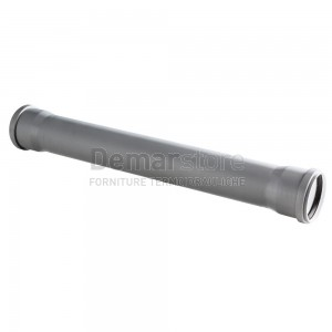 Tubo Scarico Innesto Doppio Bicchiere cm. 50 D. 50