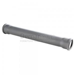 Tubo Scarico Innesto Doppio Bicchiere cm.100 D. 32