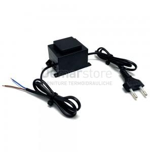 Trasformatore per Elettrovalvole e Centraline Irrigazione 220V-24Vac
