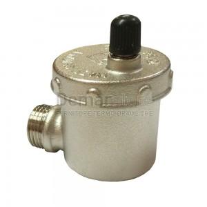 Valvola di Sfiato Automatica Thermorossi con Attacco 90° per H2O/COMPACT